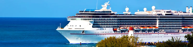 Cruise Ships by Cruise Line