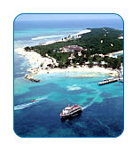 Cruise line private islands 01